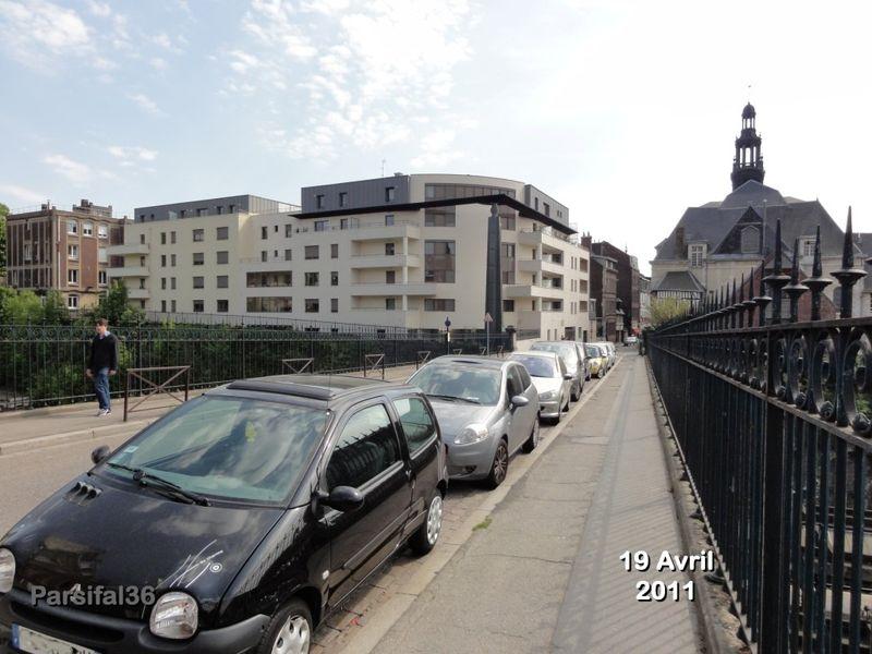 Rue du champ de oiseaux rouen before after blog for Alain elie architecte