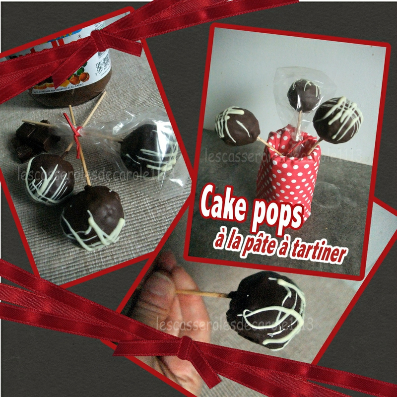 Cake pop nutella (SCRAP)