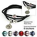 bracelet mia GYM noir