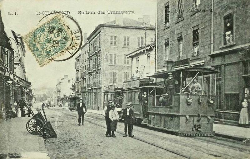 tramway rue Victor Hugo