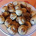 Petits muffins aux pépites de chocolat