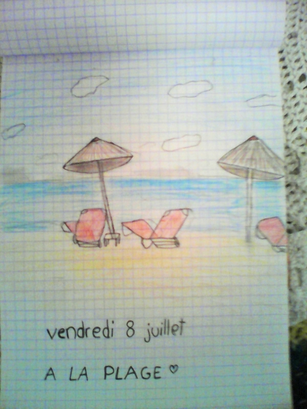 la plage Nell 8juil