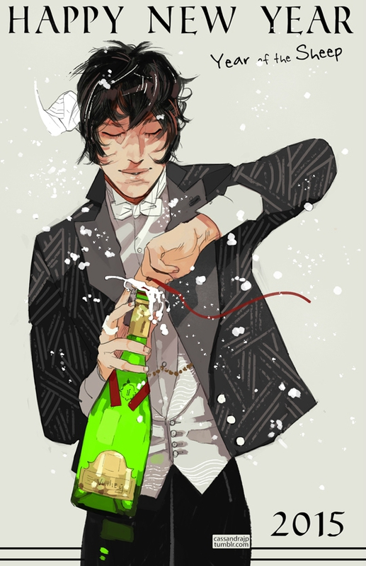 Happy New Year by Cassandra Jean