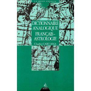 Dictionnaire analogique français-astrologie