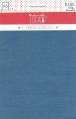 Tissu thermocollant jean bleu claire TOGA MEG004