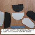 Tuto : chaussons pour bb