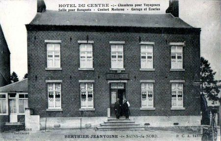 SAINS DU NORD-Hôtel du Centre (2)