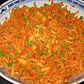 Salade carotte mimolette
