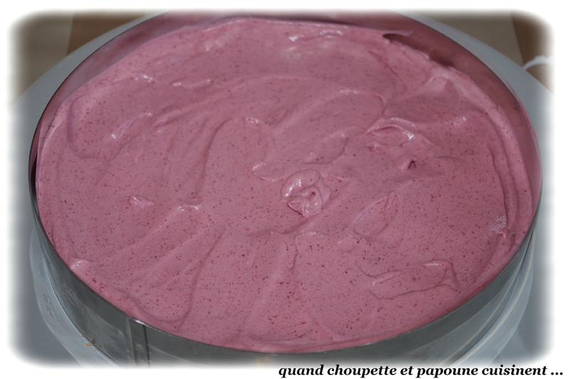 entremet mousse de fruits rouges et mousse chocolat blanc-9150