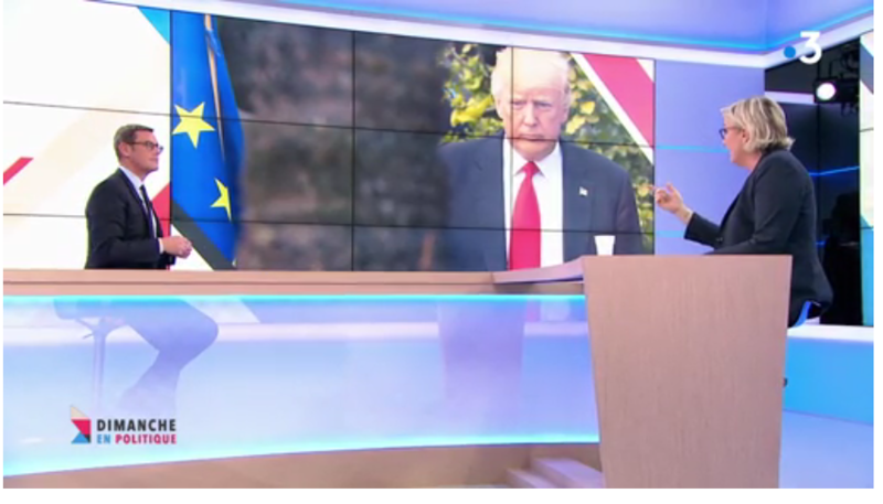 TRUMP ET MARINE LE PEN MEDIA DIXIT WORLD