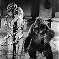 Pan et la chrétienne offerte au gorille de néron