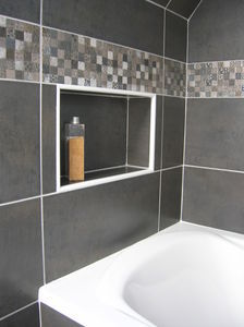 beautiful deco niche salle de bain contemporary design trends - Niche De Salle De Bain