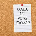 Mot d'excuses