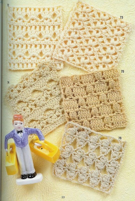 Crochet Patterns Japanese Free : tous les points au crochet - le blog de Joe CrEations