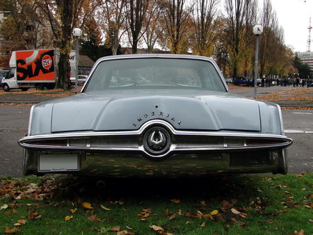 IMPERIAL Crown Hardtop Sedan 1965 Retrorencard 5