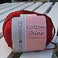 Vente de laine performance - cotton shine
