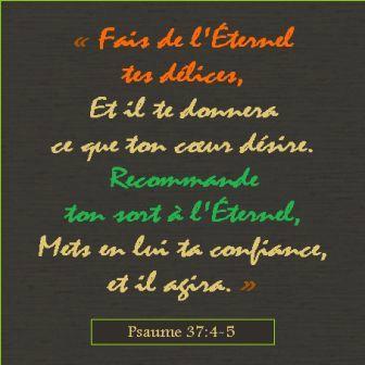 Fais de l-Eternel tes delices(1)