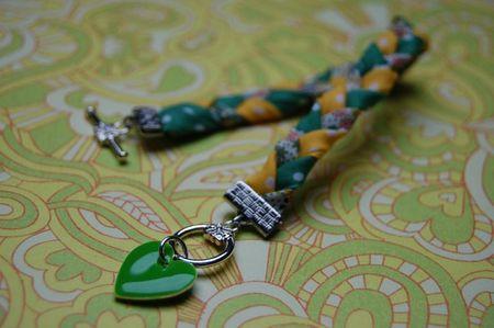 Bracelet Trinity - Vert 2