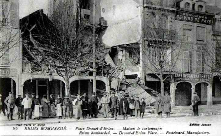 Reims bombardé2