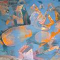 tableau acrylique 50 x 80cm