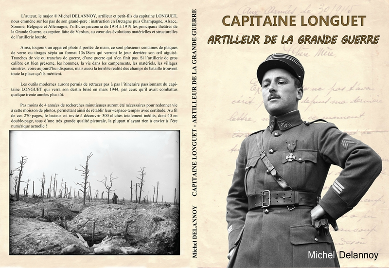 Couverture ''Capitaine Longuet''