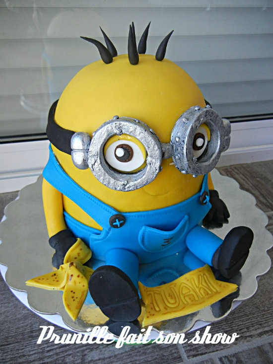 gateau minion prunillefee 8