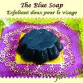 The blue soap