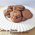 Cookies au Nutella & ppites de chocolat
