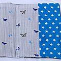 20. jean, papillons bleus et dentelle - intérieur