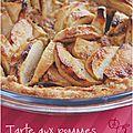 ..tarte aux pommes et crème de noisettes sans gluten..
