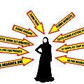 Voile musulman et fétichisme sexuel du corps féminin