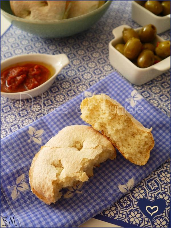 Pains individuels semoule & Flocons de pomme de terre 2