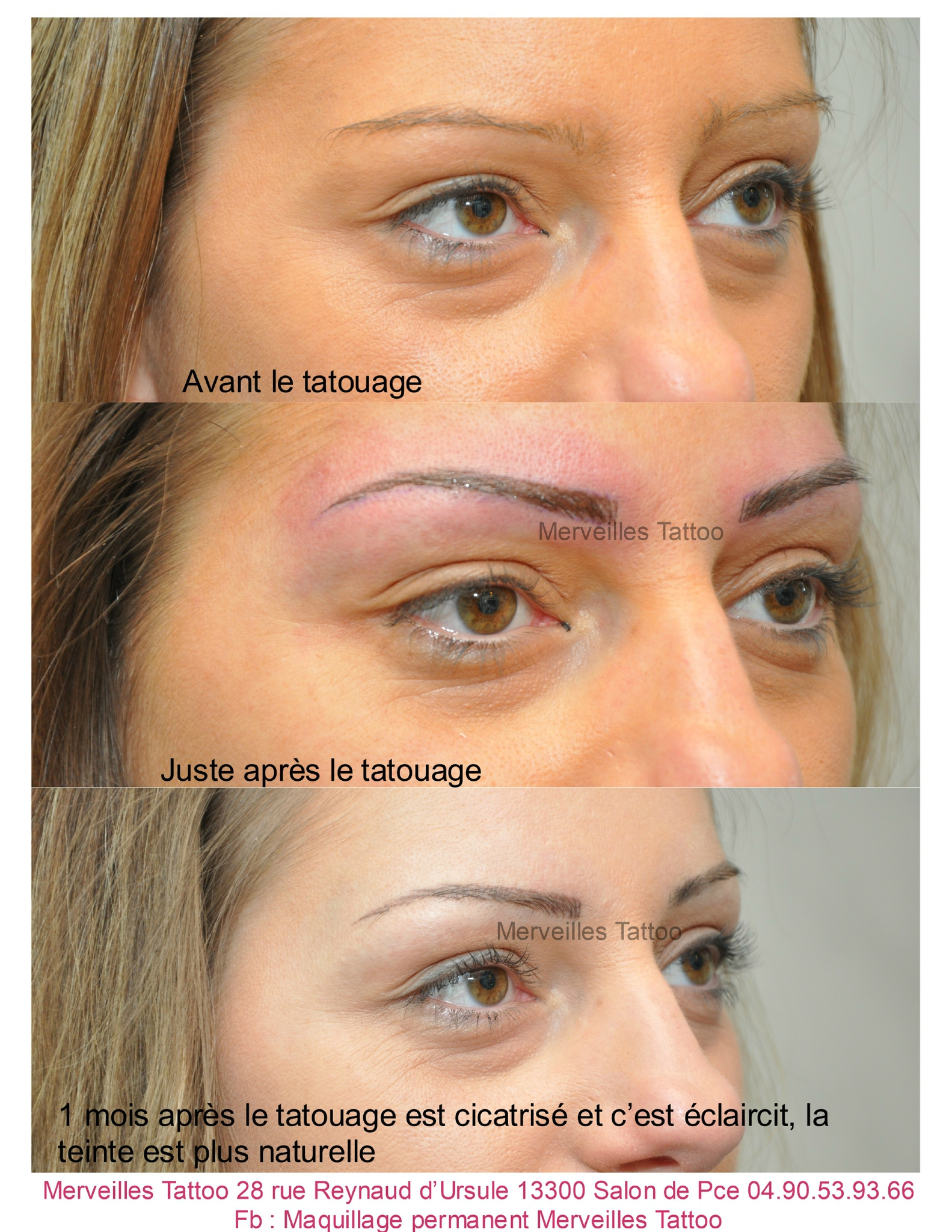 Merveilles tattoo - Maquillage permanent sourcil poil poil ...