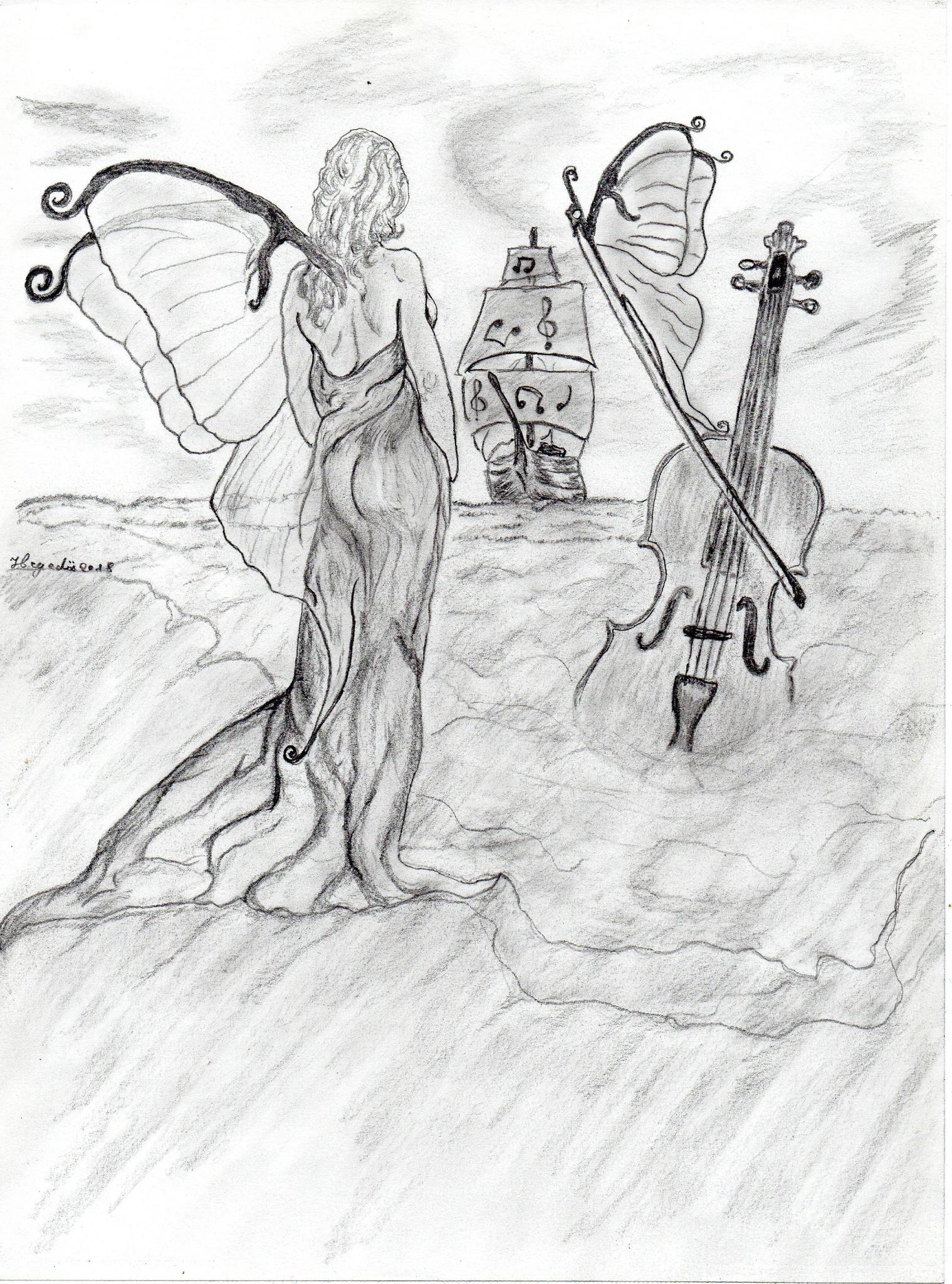 dessins sur la musique