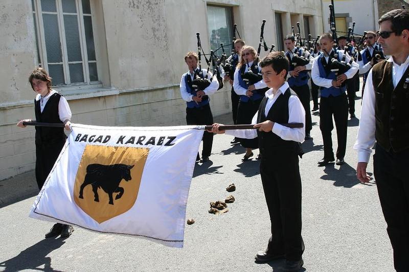 Bagad Karaez (Carhaix).