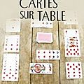 Cartes sur table ❉❉❉ agatha christie