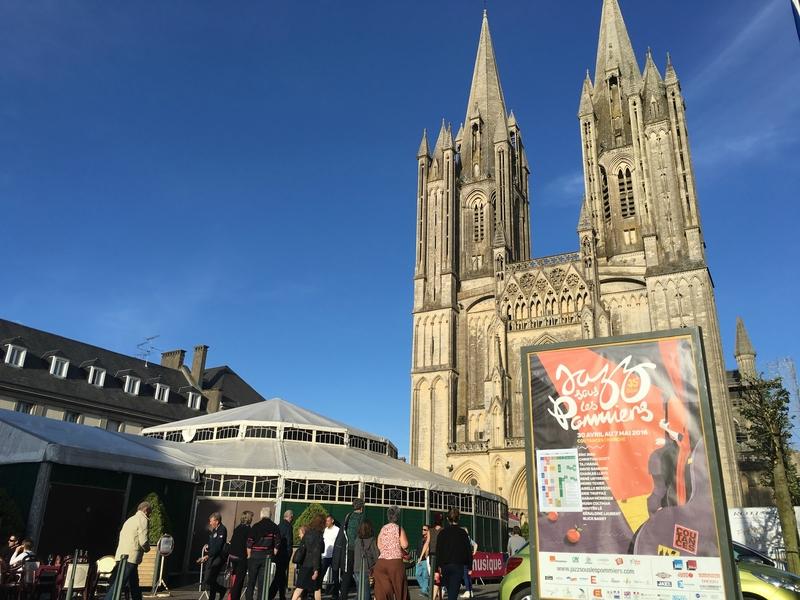 festival Jazz sous les Pommiers 2016 Coutances cathédrale magic mirrors