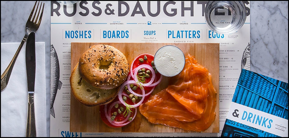 Russ & Daughters, le meilleur bagel au saumon de New York