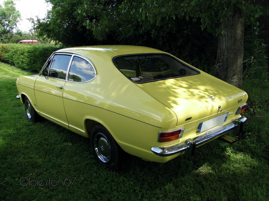 opel kadett b coupe 1972 oldiesfan67 mon blog auto. Black Bedroom Furniture Sets. Home Design Ideas