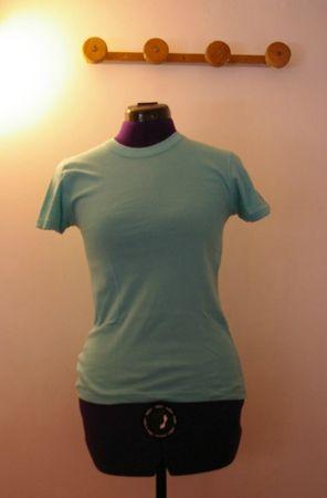 tee shirt bleu avant