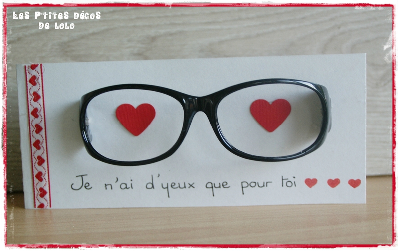 diy pour la saint valentin faire une carte avec une paire de lunettes les p 39 tites d cos de lolo. Black Bedroom Furniture Sets. Home Design Ideas