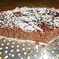 Une excellente recette : la tarte au fromage et au chocolat !!!!!!!!!!!