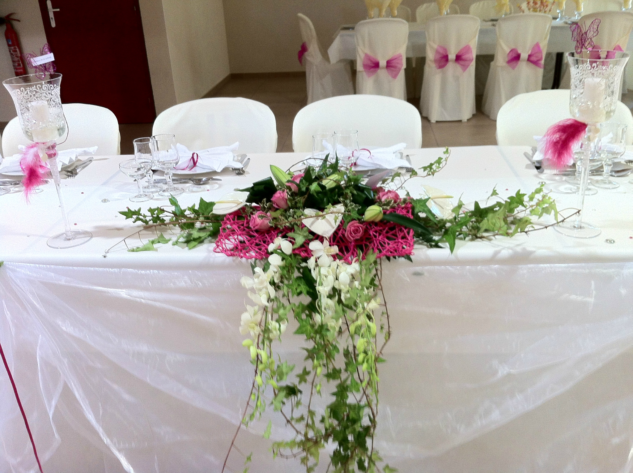 Daysdream - Composition florale table mariage ...