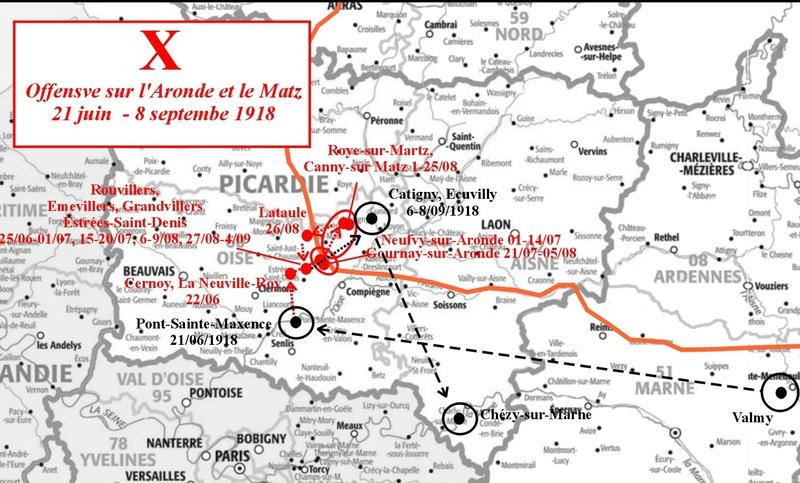 Carto Journal de Marche X Aronde et Matz