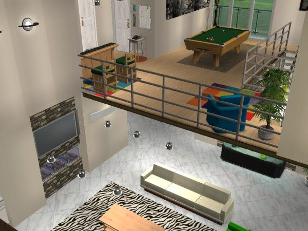 Miami road l 39 tage maisons deco sims2 for Exterieur sims 4