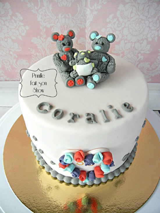 gateau famille ours prunillefee 1