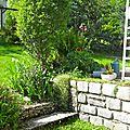 - au jardin -