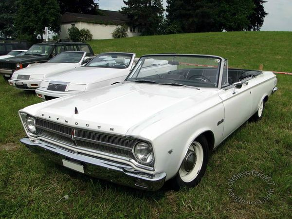 plymouth satellite convertible 1965 a