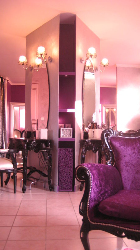 Am nagement d 39 un salon de coiffure baroque 77 pinkspace audrey clai - Salon baroque design ...