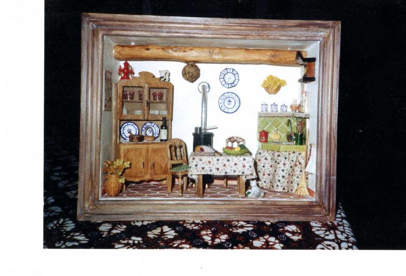 Cuisine ancienne photo de vitrines miniatures les - Cuisine ancienne photo ...
